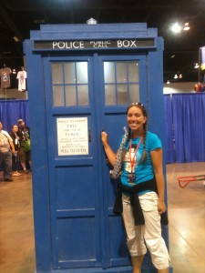 Me with the TARDIS