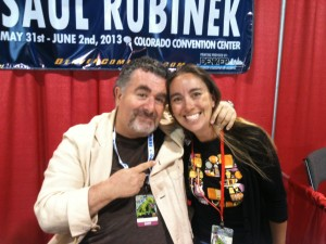 Meeting Saul Rubinek